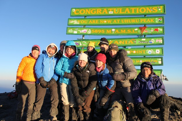 sunrise at the summit. 2013 team