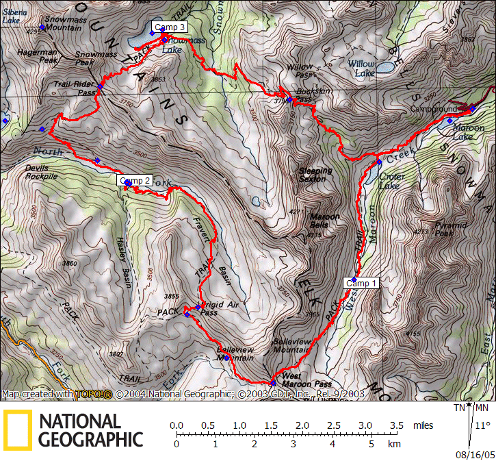 Trek The 4 Passes Around The Maroon Bells From Aspen To